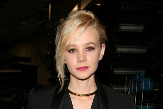 Actress Carey Mulligan attends the 55th Annual GRAMMY Awards at STAPLES Center on February 10, 2013 in Los Angeles, California.