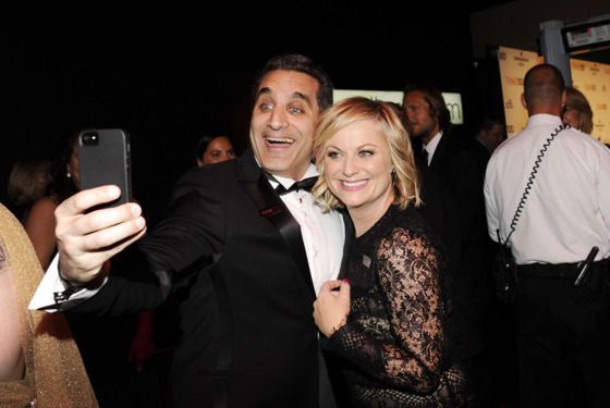 Bassem Youssef, Amy Poehler==TIME 100 GALA: TIME'S 100 MOST INFLUENTIAL PEOPLE IN THE WORLD==Jazz at Lincoln Center, NYC==April 23, 2013==©Patrick McMullan==Photo - CLINT SPAULDING/PatrickMcMullan.com====
