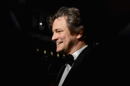 "Actor Colin Firth attends the 2012 Dubai International Film Festival, Dubai Cares and Oxfam ""One Night to Change Lives"" Charity Gala at the Armani Hotel on December 14, 2012 in Dubai, United Arab Emirates."