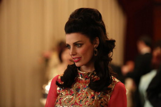 Megan Draper (Jessica Pare) - Mad Men - Season 6, Episode 5 - Photo Credit: Michael Yarish/AMC