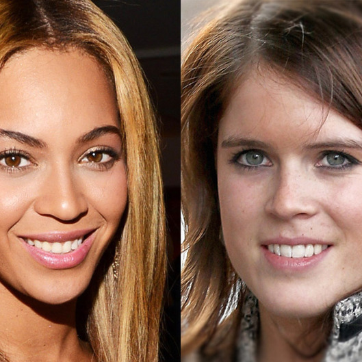 Beyonce and Princess Eugenie of England