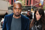 NEW YORK, NY - APRIL 23: Kanye West and Kim Kardashian are seen in Soho on April 23, 2013 in New York City. (Photo by Alo Ceballos/FilmMagic)