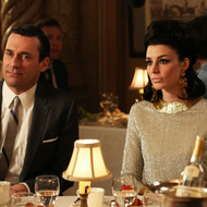 Don Draper (Jon Hamm) and Megan Draper (Jessica Pare) - Mad Men