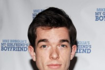 "John Mulaney==Opening Night of ""Mike Birbiglia's My Girlfriend's Boyfriend""==Barrow Street Theater, NYC==March 31, 2011."