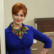 Joan Harris (Christina Hendricks) - Mad Men - Season 6, Episode 7 - Man With A Plan - Photo Credit: Michael Yarish/AMC