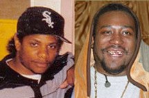 Eazy-E and Ol' Dirty Bastard