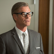 Jim Cutler (Harry Hamlin) - Mad Men _ Season 6, Episode 8 _ 'The Crash' - Photo Credit: Jordin Althaus/AMC