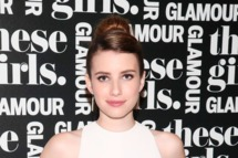 "Actress Emma Roberts attends Glamour's presentation of ""These Girls"" at Joe's Pub on May 20, 2013 in New York City."