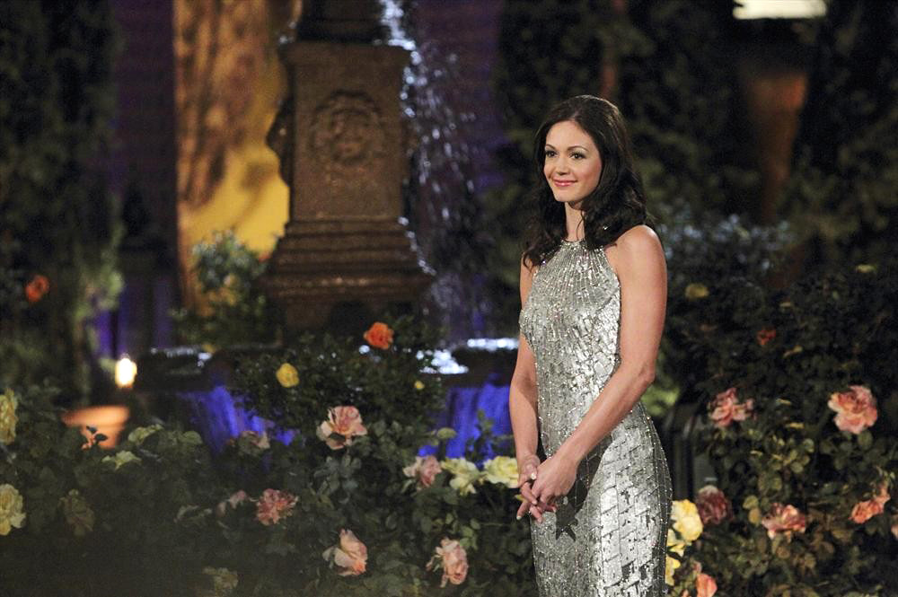 "THE BACHELORETTE - ""Episode 901"" - On the premiere, ""Episode 901,"" Desiree begins her Cinderella journey when Chris Harrison welcomes her to her new home, a cliffside Malibu estate, and gives her the keys to a brand new Bentley convertible. Her transformation is complete as she slips into a stunning silvery confection of a gown fit for a princess. At the mansion, Desiree's anxiety falls away as her 25 eager suitors catch their first glimpse of her: One nervous guy tries to sweep her off her feet with a romantic dance move, but falls flat; a sleight-of-hand artist makes something special magically appear for Desiree; a hunky oil rig worker puts his amazing abs on display straight off; still another hopeful Prince Charming goes to the other extreme, showing up in a medieval suit of armor. But the one who steals her heart is the youngest bachelor ever to step out of a limo -- a four-year-old boy who is followed by his proud, single dad, in the ninth edition of ""The Bachelorette,"" the female version of ABC's hit romance reality series, premiering MONDAY, MAY 27 (8:00-10:01 p.m., ET), on the ABC Television Network. (ABC/Rick Rowell) DESIREE HARTSTOCK"