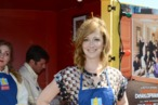 "LOS ANGELES, CA - MAY 20: Judy Greer appears at the ""Arrested Development"" Bluth's Original Frozen Banana Stand First Los Angeles Location Opening on May 20, 2013 in Los Angeles, California. (Photo by Araya Diaz/Getty Images)"