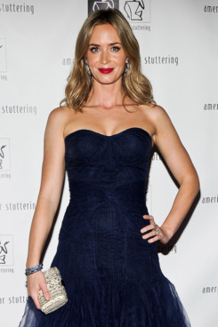 "Emily Blunt attends the 7th Annual ""Freeing Voices, Changing Lives"" Benefit Gala at Tribeca Rooftop on June 3, 2013 in New York City."