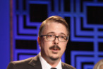 Writer Vince Gilligan accepts the Writers Guild Award for Drama Series onstage during the 2013 WGAw Writers Guild Awards at JW Marriott Los Angeles at L.A. LIVE on February 17, 2013 in Los Angeles, California.