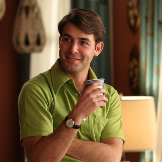 Bob Benson (James Wolk) - Mad Men _ Season 6, Episode 9 _ 'The Better Half' - Photo Credit: Michael Yarish/AMC
