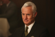Roger Sterling (John Slattery) - Mad Men _ Season 6, Episode 11 _ 'Favors' - Photo Credit: Michael Yarish/AMC