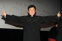 Jackie Chan attends New York Asian Film Festival Star Asia Lifetime Achievement Award Ceremony at Walter Reade Theater on June 10, 2013 in New York City.