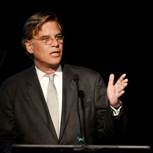 "Writer Aaron Sorkin speaks at ""An Evening"" benifiting The Gay & Lesbian Center at the Beverly Wilshire Hotel on March 21, 2013 in Beverly Hills, California."