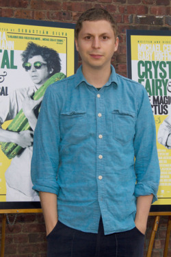 "NEW YORK, NY - JULY 09:  Michael Cera attends the ""The Crystal Fairy"" New York Screening at Wythe Hotel on July 9, 2013 in the Brooklyn borough of New York City.  (Photo by Mireya Acierto/Getty Images)"