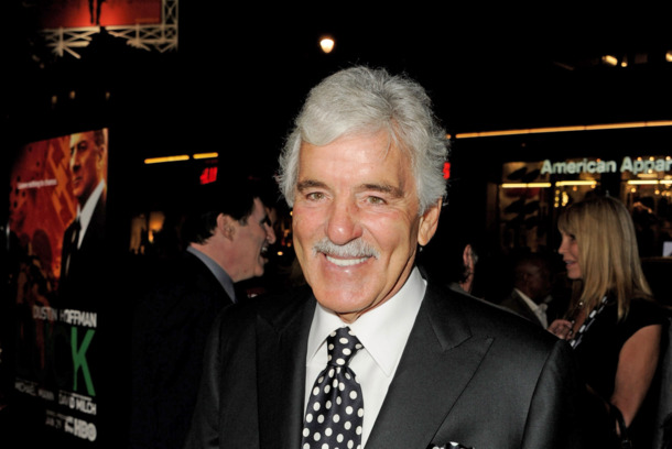 "LOS ANGELES, CA - JANUARY 25:  Actor Dennis Farina arrives at the premiere of HBO's ""Luck"" at the Chinese Theater on January 25, 2012 in Los Angeles, California.  (Photo by Kevin Winter/Getty Images)"