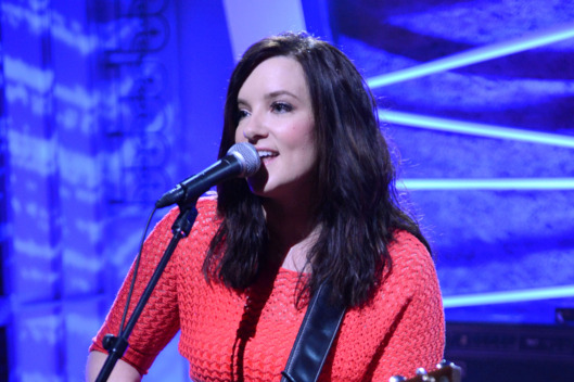 NASHVILLE, TN - JUNE 20:  Brandy Clark performs during the MTV, VH1, CMT & LOGO 2013 O Music Awards on June 20, 2013 in Nashville, Tennessee.  (Photo by Jason Davis/Getty Images)