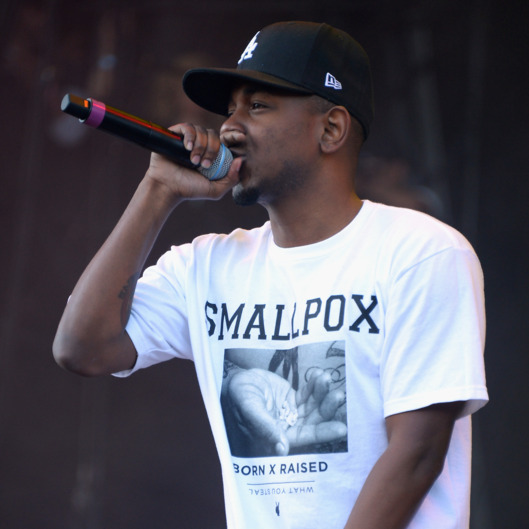 CHICAGO, IL - AUGUST 03:  Kendrick Lamar performs during Lollapalooza 2013 at Grant Park on August 3, 2013 in Chicago, Illinois.  (Photo by Theo Wargo/Getty Images)