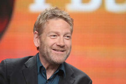 "BEVERLY HILLS, CA - JULY 21:  Actor and producer Kenneth Branagh speaks onstage at the Masterpiece Mystery! ""Wallander III"" panel during day 1 of the PBS portion of the 2012 Summer TCA Tour held at the Beverly Hilton Hotel on July 23, 2012 in Beverly Hills, California.  (Photo by Frederick M. Brown/Getty Images)"