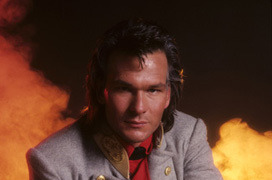 """North and South""Patrick Swayze1985? 1985 Mario Casilli"