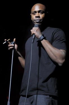 Dave Chapelle introduces Erykah Badu at The Fox Theater on February 19, 2010 in Oakland, California.