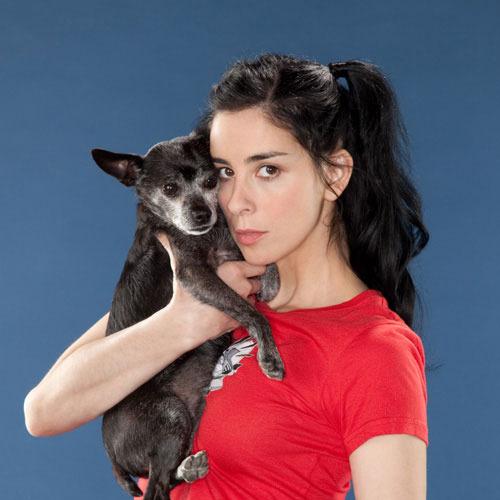 Sarah Silverman dog