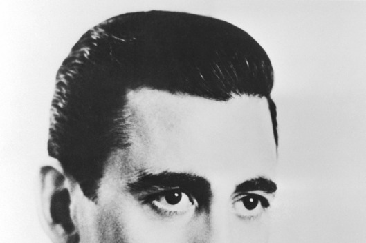 1951 --- Author J.D. Salinger, best known for Catcher in the Rye. --- Image by ? Bettmann/CORBIS
