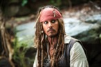 """PIRATES OF THE CARIBBEAN: ON STRANGER TIDES""  JOHNNY DEPP is the unscrupulous but freedom-loving Captain Jack Sparrow.  Ph: Peter Mountain  ©Disney Enterprises, Inc. All Rights Reserved."