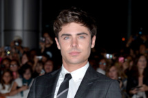 "Actor Zac Efron arrives at the ""Parkland"" premiere during the 2013 Toronto International Film Festival at Roy Thomson Hall on September 6, 2013 in Toronto, Canada."