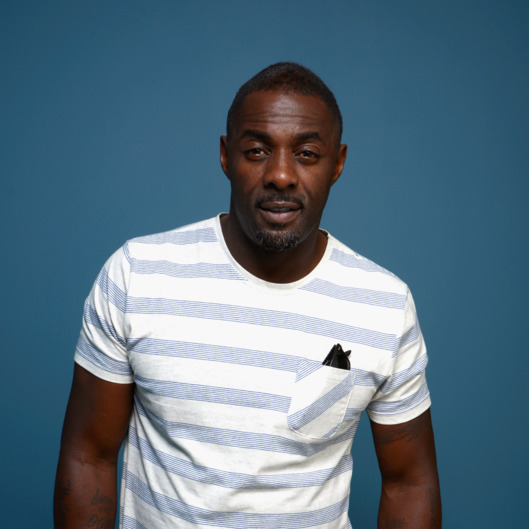 TORONTO, ON - SEPTEMBER 08:  Actor Idris Elba of 'Mandela: Long Walk to Freedom' poses at the Guess Portrait Studio during 2013 Toronto International Film Festival on September 8, 2013 in Toronto, Canada.  (Photo by Larry Busacca/Getty Images)