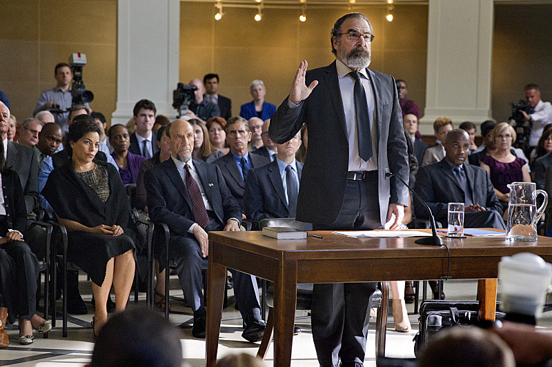 Mandy Patinkin as Saul Berenson in Homeland
