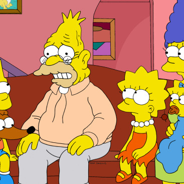 "THE SIMPSONS: Grampa tells the story of Homer's long-lost childhood dog, Bongo, in the all-new ""To Cur, With Love"" episode of THE SIMPSONS"