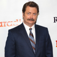 LOS ANGELES, CA - AUGUST 06:  Actor Nick Offerman attends the premiere of DirecTV's 'Paradise' at Mann Chinese 6 on August 6, 2013 in Los Angeles, California.  (Photo by Imeh Akpanudosen/Getty Images)