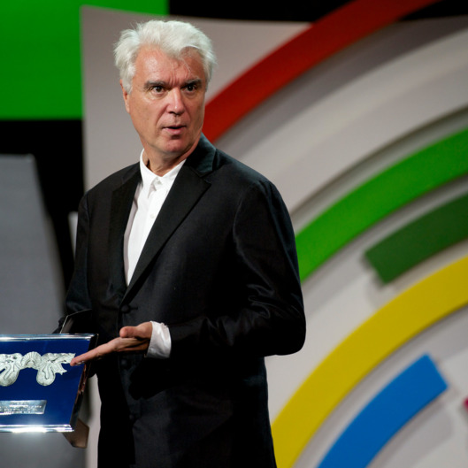 David Byrne attends closing gala of the 61st San Sebastian International Film Festival on September 28, 2013 in San Sebastian, Spain.