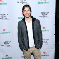 "NEW YORK, NY - APRIL 26:  Actor Justin Long attends Heineken after party for ""Single Shot"" with featured guests Justin Long and Sam Rockwell on April 26, 2013 in New York City.  (Photo by Ilya S. Savenok/Getty Images for Heieneken)"