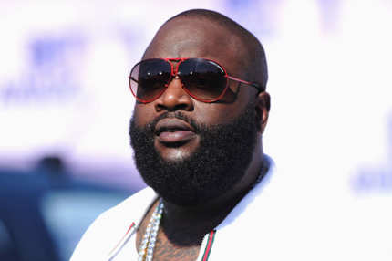 Rapper Rick Ross arrives at the BET Awards '11 held at the Shrine Auditorium on June 26, 2011 in Los Angeles, California.