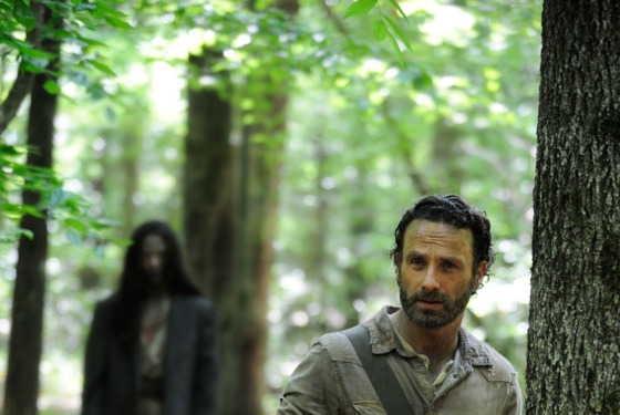 Rick Grimes (Andrew Lincoln) - The Walking Dead_Season 4, Episode 1 - Photo Credit: Gene Page/AMC