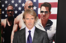 "Michael Bay attends the ""Pain & Gain"" premiere on April 11, 2013 in Miami Beach, Florida."