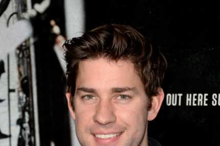 "BEVERLY HILLS, CA - SEPTEMBER 30:  Actor John Krasinski attends the premiere of Columbia Pictures' ""Captain Phillips"" at the Academy of Motion Picture Arts and Sciences on September 30, 2013 in Beverly Hills, California.  (Photo by Jason Merritt/Getty Images)"