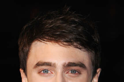 "Actor Daniel Radcliffe attends a screening of ""Kill Your Darlings"" during the 57th BFI London Film Festival at Odeon West End on October 17, 2013 in London, England."