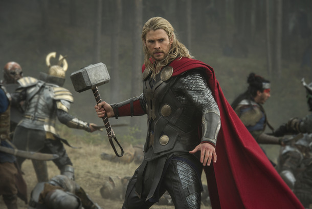 """Marvel's Thor: The Dark World""  Thor (Chris Hemsworth)  Ph: Jay Maidment  © 2013 MVLFFLLC.  TM & © 2013 Marvel.  All Rights Reserved."