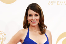 LOS ANGELES, CA - SEPTEMBER 22:  Writer/actress Tina Fey arrives at the 65th Annual Primetime Emmy Awards held at Nokia Theatre L.A. Live on September 22, 2013 in Los Angeles, California.  (Photo by Frazer Harrison/Getty Images)