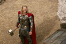 """Marvel's Thor: The Dark World""..Thor (Chris Hemsworth) and a Kronan...Ph: Film Frame..? 2013 MVLFFLLC. TM & ? 2013 Marvel. All Rights Reserved."