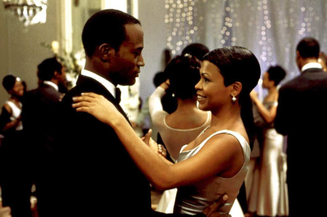 Down Will Come Baby movie scenes BEST MAN Taye Diggs Nia Long 1999 Photo Universal Pictures Courtesy Everett Collection