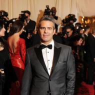 "Andy Cohen attends the Costume Institute Gala for the ""PUNK: Chaos to Couture"" exhibition at the Metropolitan Museum of Art on May 6, 2013 in New York City."