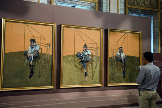 "A Journalist looks at Francis Bacon's paintings "" Three Studies of Lucian Freud - 1969 """