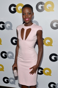 LOS ANGELES, CA - NOVEMBER 12:  Actress Lupita Nyong'o attends the GQ Men Of The Year Party at The Ebell Club of Los Angeles on November 12, 2013 in Los Angeles, California.  (Photo by Michael Buckner/Getty Images for GQ)