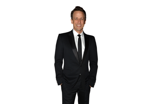 Seth Meyers and Alexi Ashe attend the American Museum of Natural History's 2013 Museum Gala at American Museum of Natural History on November 21, 2013 in New York City.